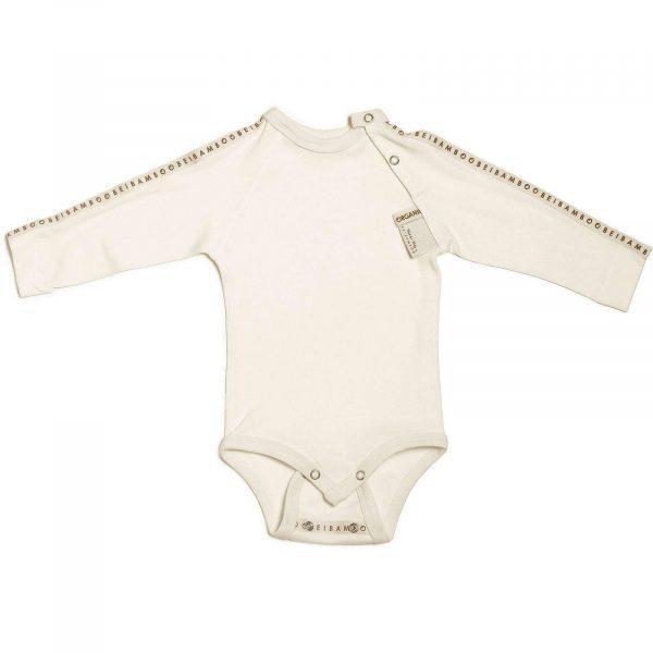 Beibamboo Baby Grow White