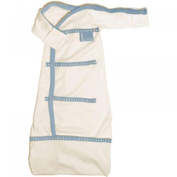 blue baby-pod bamboo Sleep pod organic baby clothing organic cotton