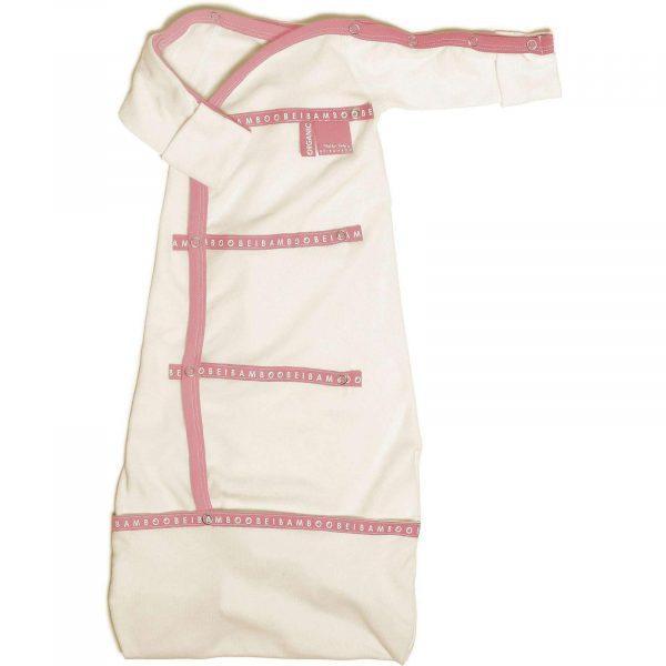 pink sleep pod organic cotton baby clothing soft